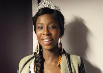Les premiers mots de Miss Soninké France, Niamé Traoré, sur Soninkara.com