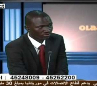 Demba Cissé with Olaadani on TV Sahel: Interview with Maroufa Diabira
