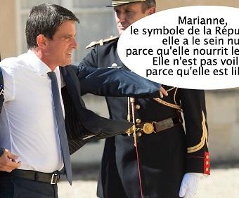 Lettre d'un époux de femme voilée à M. VALLS : Le voile continuera-t-il toujours à voiler les vrais problèmes de la France ?