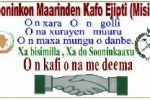 Soobe Tappi 8, le magazine de l'association Sooninkon Maarinden Kafo Egypte