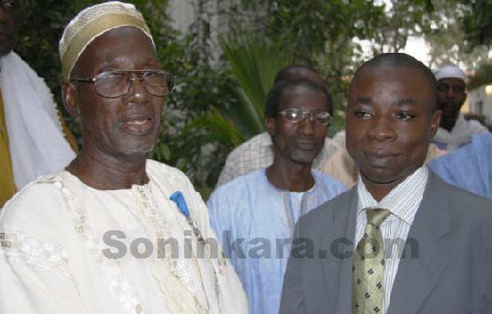 Adama Coumba Cissé et Amadou Kanouté (journaliste)