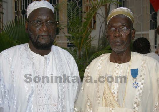 Sadio Cissé (maire de Waoundé) et son frère Adama Coumba Cissé