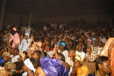 Le public, venu nombreux