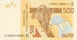 La BCEAO lance un nouveau billet de 500 francs CFA le 30 novembre 2012