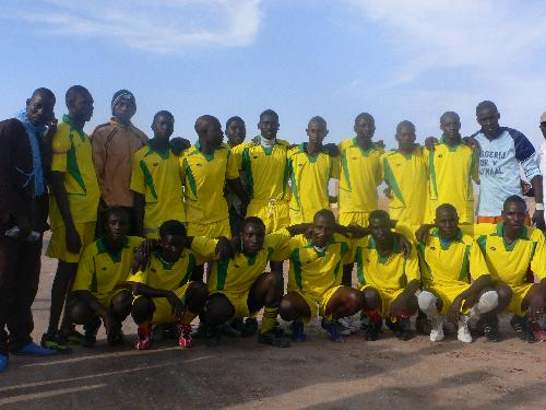 Equipe de Coumba N'daw