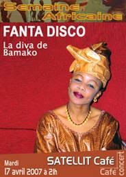 FANTA DISCO : La diva de Bamako : Mardi 17 avril 2007