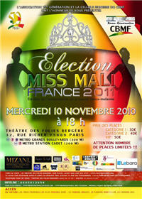 Election miss Mali France 2011
