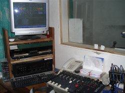 Studio de la radio Jiida FM DAKAR