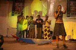Biennale 2008 de Kayes: Troupe des maliens de France: Le feu d'artifice final